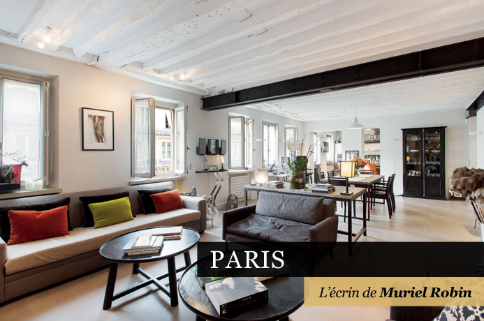 4 paris l crin de muriel robin 25ans propri t s de france. Black Bedroom Furniture Sets. Home Design Ideas