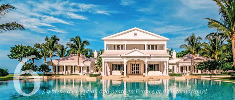 25ans propri t s de france for Villa de celine dion en floride